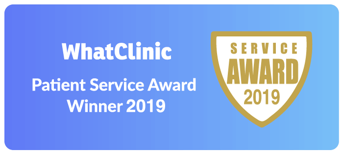 WhatClinic Patient Service Award 2019