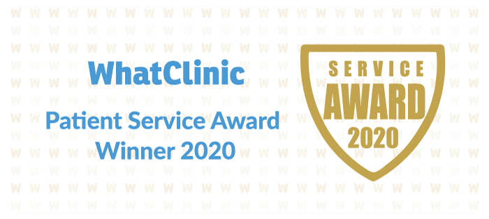 WhatClinic Patient Service Award 2020