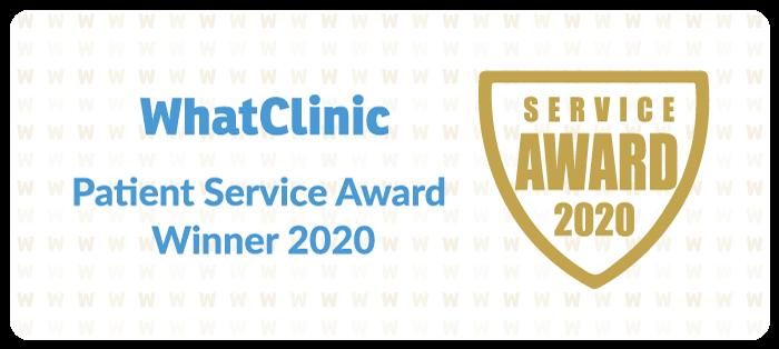 WhatClinic Patient Service Award 2020